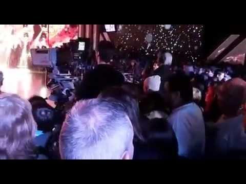 Protesta en vivo: Una persona se metió desde la tribuna durante el aire de ShowMatch