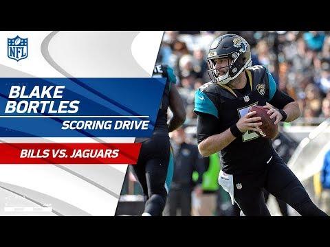 Blake Bortles' Big Runs Set Up Game-Tying FG to End Half! | Bills vs. Jaguars | NFL Wild Card HLs