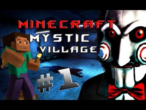 """Minecraft - Таинственная Деревня """"1 серия"""""""