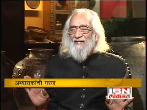 Great Bhet with Babasaheb Purandare Part 1