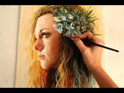Speed Painting : Dawn (oil)