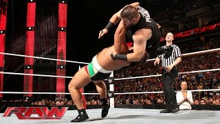 Kevin Owens vs. Rusev: Raw, Sept. 28, 2015