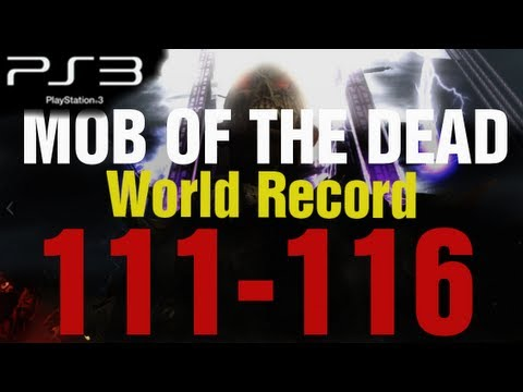 Mob of the Dead PS3 Round 116 World Record Gameplay Strategy - Black Ops 2 Zombies by TheRelaxingEnd