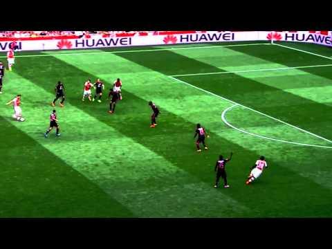 Aaron Ramsey vs Benfica