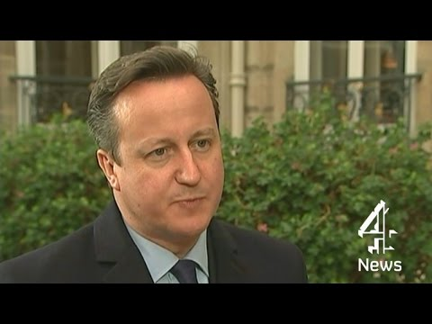 David Cameron: I defend the right to offend I Channel 4 News