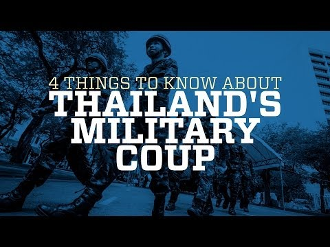 4 things to know about Thailand's military coup