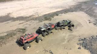 KRC Team Traxxas summit 6x6