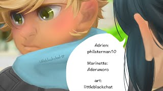 Miraculous Ladybug Comic by Littleblackchat! Adriens Jacket
