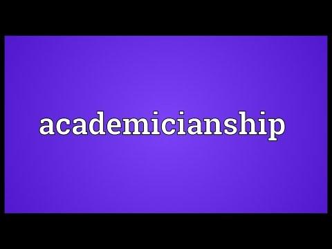 Header of Academicianship