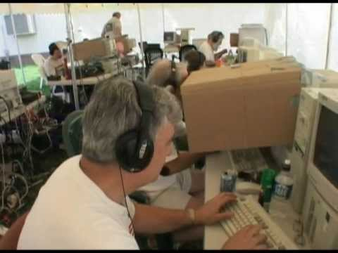 W3LPL running 20 Meters at W3AO Field Day 2004