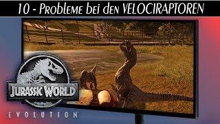 Jurassic World Evolution deutsch 🦖 #10 Probleme bei den VELOCIRAPTOREN | Gameplay deutsch german