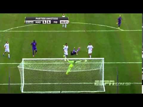 Fiorentina 2  1 Real Madrid Highlight 2014