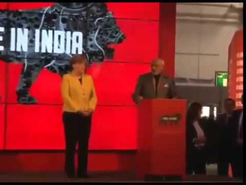 Narendra Modi, Angela Merkel inaugurate India pavilion