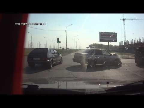 Авария Омск 05.05.2014