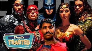 JUSTICE LEAGUE MOVIE REVIEW - Double Toasted Review