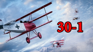 Battlefield 1  Fighter Plane Gameplay  30-1 Fao Fortress