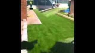 casverde diseño de jardin artificial