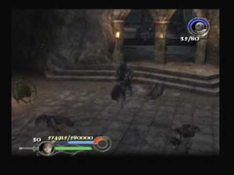 Lord Of The Rings - The Return Of The King ps2 Cirth Ungol Part 1