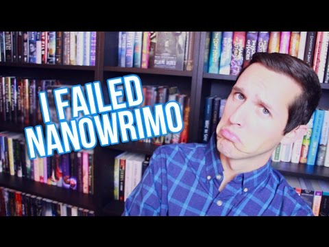 I FAILED NANOWRIMO ALREADY?!?!