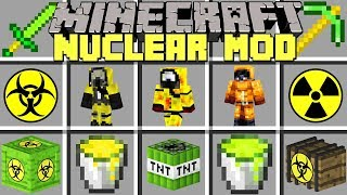 Minecraft NUCLEAR MOD l PLAY WITH NUCLEAR ITEMS, WEAPONS, & MORE! l Modded Mini-Game