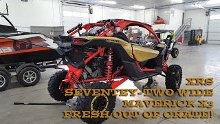 2017 Maverick XRS PPSM X3 Seventy-Two Wide Fresh Out Of Box!
