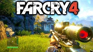 Far Cry 4 Gameplay - Exclusive PS4 FarCry 4 Gameplay 1080p HD