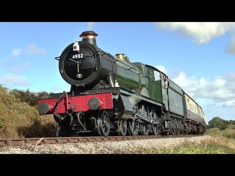 All action Steam at the West Somerset Railway Autumn Gala 2014