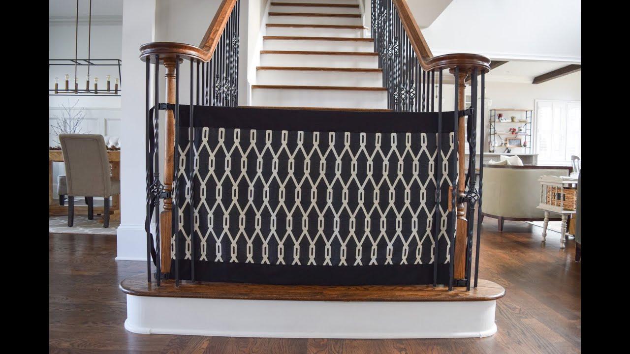 Как сделать ограждение на лестницу от детей