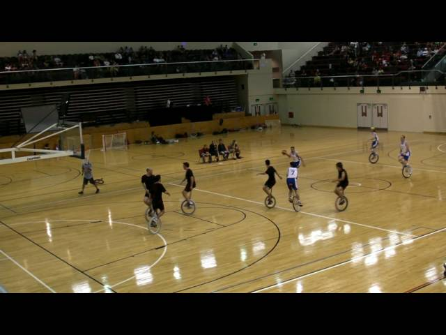 UNICON XV Unicycle Basketball Final pt3