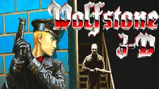 Wolfstone 3D - All bosses up to BJ Blazkowicz