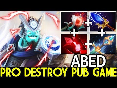 Abed [Storm Spirit] TOP MMR SEA Destroy Pub Game 7.21 Dota 2