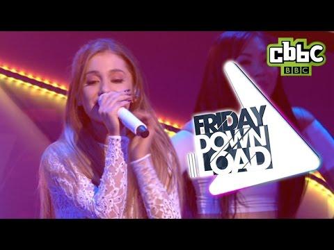 Ariana Grande Live performance - 'Problem' - CBBC's Friday Download
