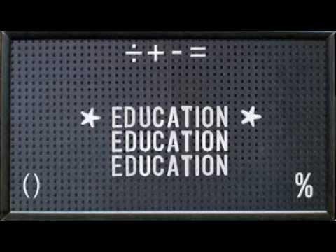 Education Education Education & War (Trailer)
