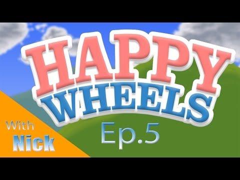 Happy Wheels w Nick Ep. 5 TOBUSCUS QUIZ