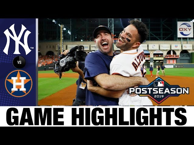 Jose Altuve's walk-off HR sends Astros to World Series in Game 6!   Yankees-Astros MLB Highlights thumbnail