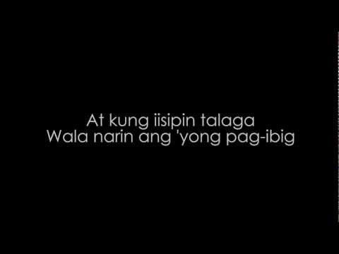 Malaya Ka Na (Lyric Video) - Armchairs