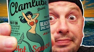 Hot Sauce Willie's - Bishop Brad VS Clamlube Brand - Beach Party - Spice Wave Nirvana Hot Sauce.