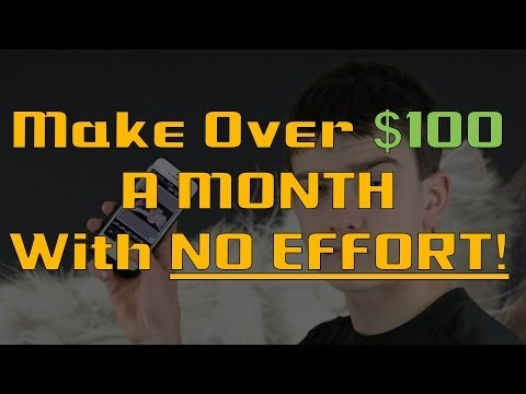 How to Make Money With Your Smartphone - Over $100 a Month!