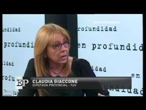 la diputada giaccone destaco que hoy por hoy el peronismo no es opcion electoral