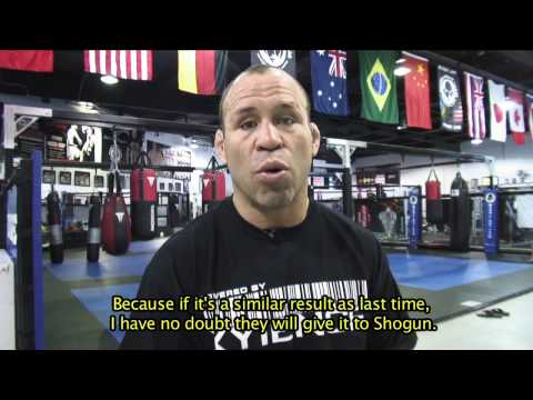 Wanderlei Silva Predictions for UFC 113 Mauricio Shogun Rua VS Lyoto Machida Video