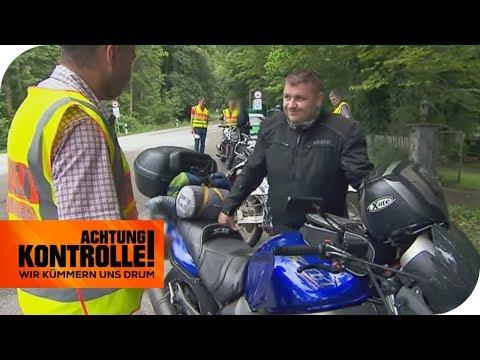 Download Illegales Tuning! Polizei verbietet Biker die Weiterfahrt! | Achtung Kontrolle | kabel eins Mp4 baru