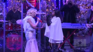 "Tamar Braxton Performs ""The Chipmunk Song"" ft. Trina Braxton - HipHollywood.com"