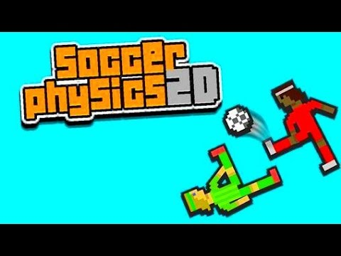 Soccer Physics 2D Android GamePlay Trailer (HD) [Game For Kids]