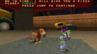 Toy Story 2 Walkthrough Level 4: Construction Yard 1/2