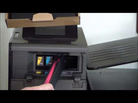 HP Officejet Pro X551dw Unboxing & Setup
