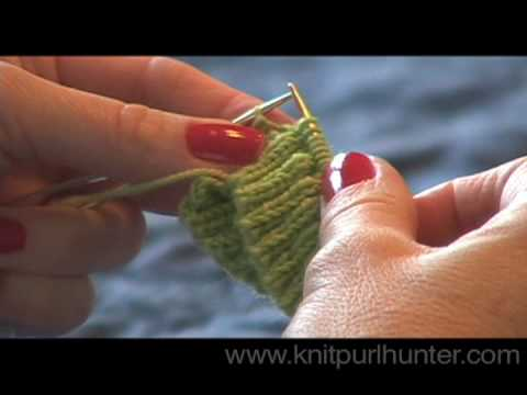 Short Row Heel - Part 1