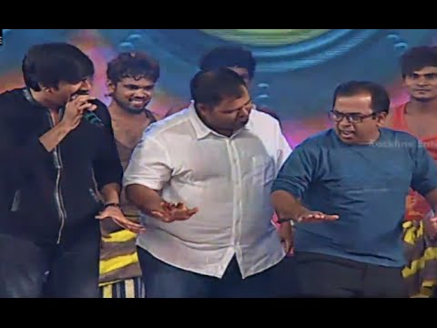 Ravi Teja Brahmanandam Hansika & Funny Dance Performance  Power...
