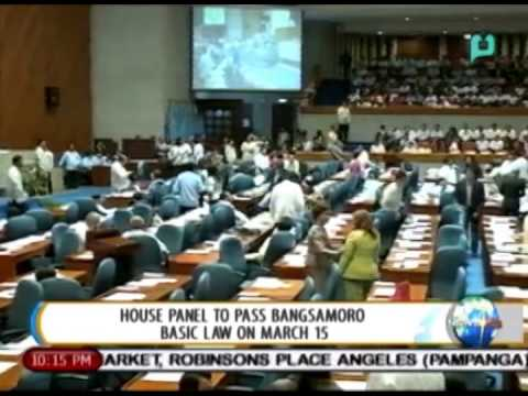 [NewsLife] House Panel to pass Bangsamoro Basic Law on March 15 [01|19|15]