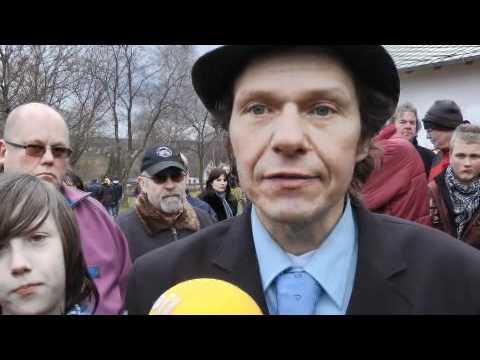 Ludolf Fans nehmen Abschied von Horst Günter RIP - Video ......Oeni