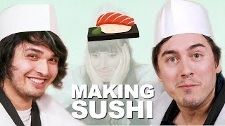 DIY Conveyor Belt Sushi Set For Kids [Feat.The Anime Man & Abroad in Japan]
